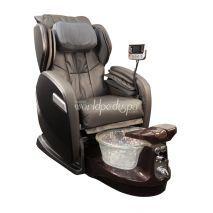 Grey Chair/Satin Mocha Base