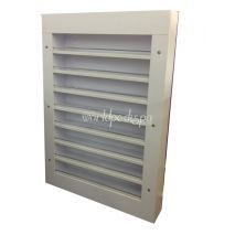 PC03 Wall Polish Rack White
