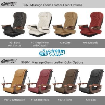 Aqua massage chair option