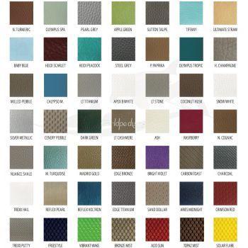 Enduro Top Grain Leather Color