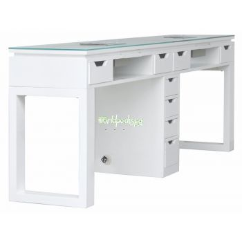Valentino Lux Double Manicure Table