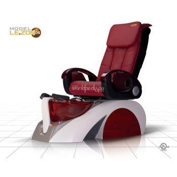 D5 spa chair  - Burgundy