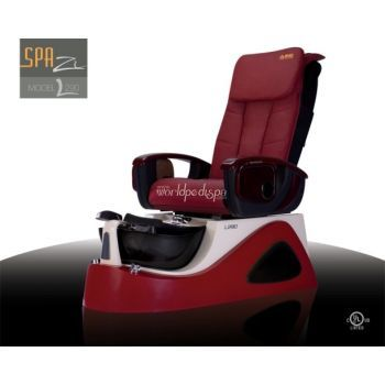 L-290 Pedicure Spa - Red