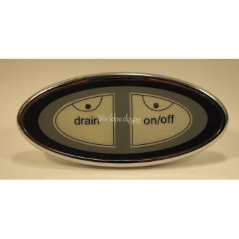 European Touch Button Dual Functions for any Rinato Spa Chairs