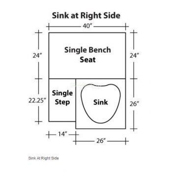 Sink at Right Side