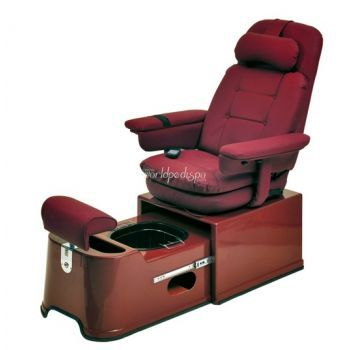 PS-92-R Footsie Rusty Brown Portable Pedicure Chair