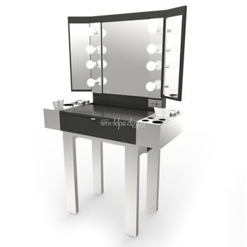 VC - Redman Stainless Steel Makeup Station