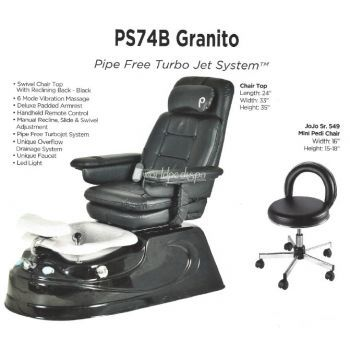 PS-94B Granito Jet Pedicure Chair